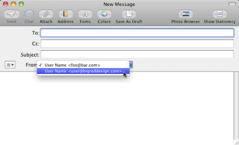 Mail: Compose message