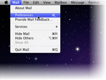 Mail: Preferences