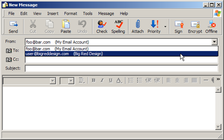 Outlook Express: Compose Email