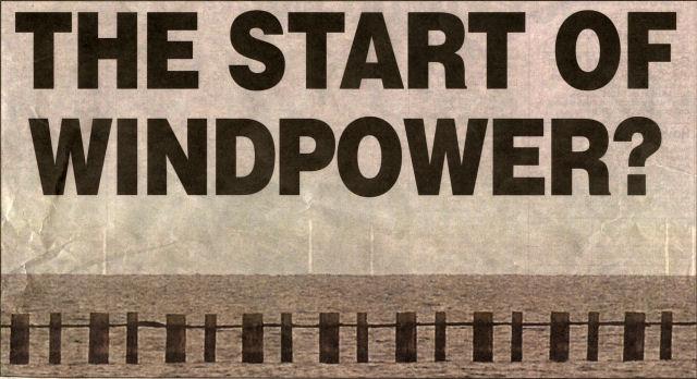 The start of windpower?